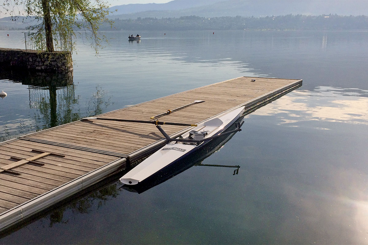 Best training single scull for rivers and lakes