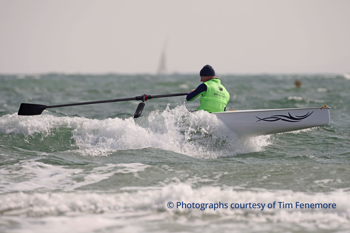 LiteRace 1X single coastal rowing boat