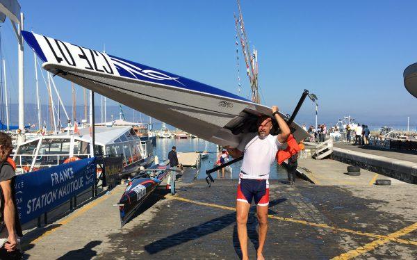 LiteRace 1X coastal single racing boat